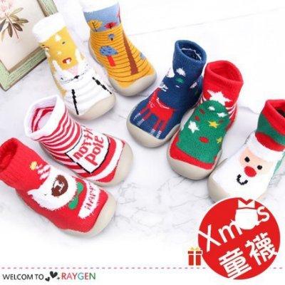 八號倉庫 聖誕寶寶學步鞋襪 加厚毛圈 地板襪【2Y122M429】