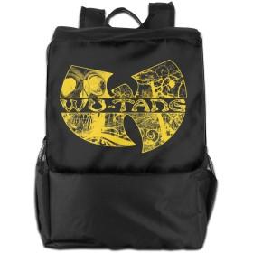 Wu Tang Clan バックパック リュック 男女兼用 大容量 多機能 リュックサック 旅行 通勤 通学 PC収納 高耐久性