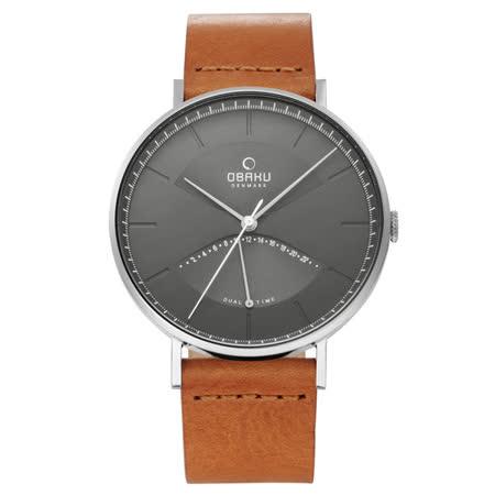 OBAKU 返轉世界時尚腕錶-V213GUCURZ