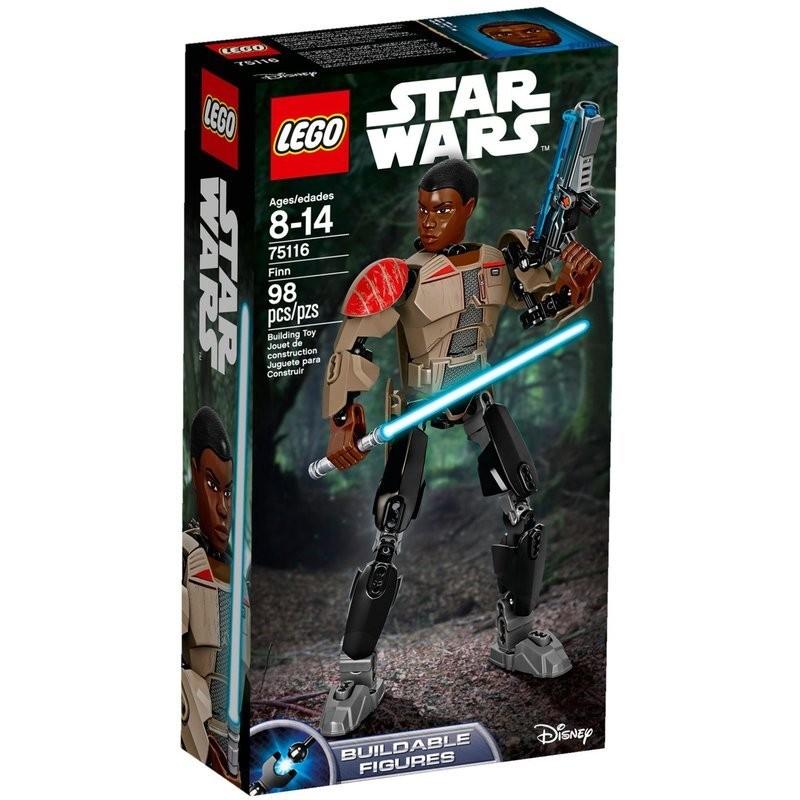 樂高 LEGO Star Wars 星際大戰系列 Finn 芬恩 LT 75116