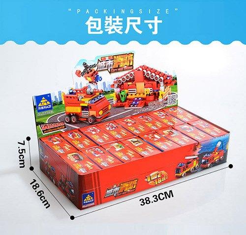 消防指揮部/ 消防16合一積木(現貨+預購)