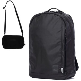 THE BROWN BUFFALO (ザブラウンバッファロー) / バックパック リュックサック 撥水 /420D / CONCEAL BACKPACK - BLACK ブラック 黒