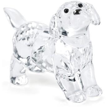 (スワロフスキー) SWAROVSKI ラブラドールの赤ちゃん(ST)1.8 x 3.5 x 3.1 cm (クリア) 5400141 LABRADOR PUPPY, STANDING 犬 ドッグ フィギュリン [並行輸入品]