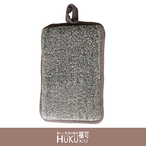 hukuku福可亞麻沐浴海綿-方形
