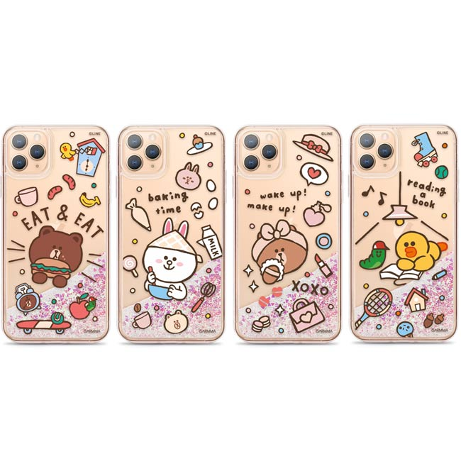 GARMMA LINE FRIENDS iPhone 11 Pro Max iPhone 11 Pro IP11 流沙殼