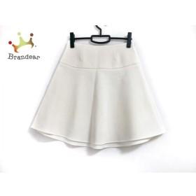 ミューズデドゥーズィエムクラス スカート サイズ38 M レディース 美品 アイボリー 新着 20191130