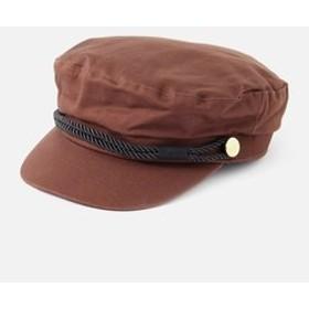 【AZUL by moussy:帽子】TWILL MARINE CAP