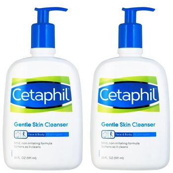 Cetaphil 舒特膚 溫和潔膚乳 591ml 20oz 二入組