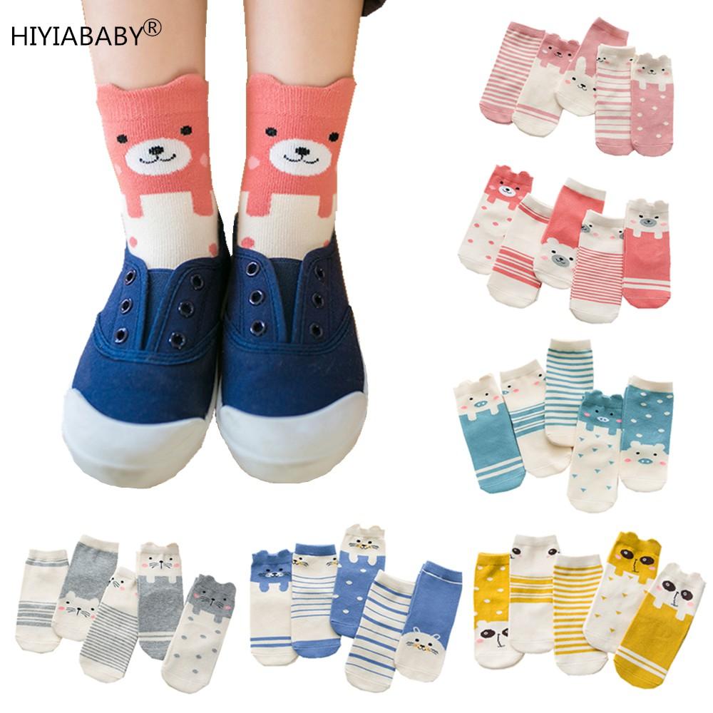 5雙組兒童卡通襪子 現貨出售 0-12歲純棉兒童中筒襪卡通兒童襪子立體動物圖案男童襪女童襪子寶寶襪子