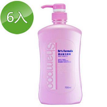 台塑生醫Dr's Formula 嬰幼童洗髮精 700ml 6入