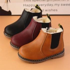 子供靴 キッズ ムートンブーツ ショートブーツ 子供靴 キッズ靴 シューズ もこもこ ふわふわ ファー靴  冬靴 防寒ブーツ  女の子 男の子