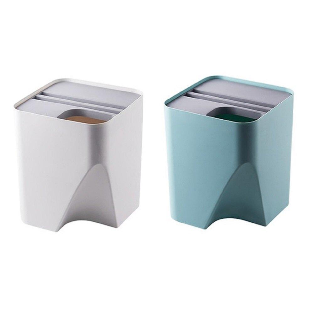 省空間神器拼接分類垃圾桶 分類 【QIDINA】