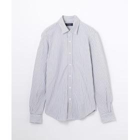 【50%OFF】 トゥモローランド コットン ワイドカラー ドレスシャツ メンズ 15グレー XS 【TOMORROWLAND】 【セール開催中】
