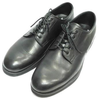 FOOTSTOCK ORIGINALS プレーントゥシューズ ブラック サイズ:7 1/2 (自由が丘店) 191126