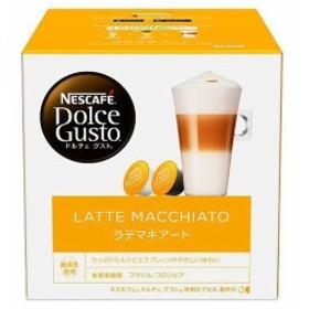 【送料無料】ネスレ日本 ネスカフェ ドルチェ グスト 専用カプセル ラテ マキアート 16個(8杯分)×3箱入