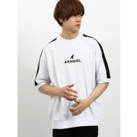【semantic design:トップス】カンゴール/KANGOL リブラインクルーネック半袖Tシャツ