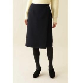 【NATURAL BEAUTY BASIC:スカート】[洗える]カルゼタイトスカート