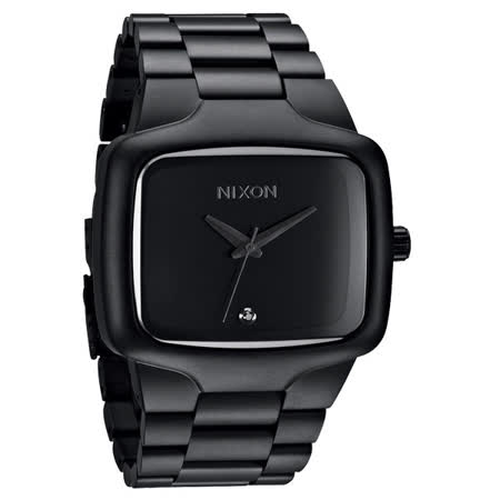 NIXON The BIG PLAYER理想姿態都會時尚腕錶(全黑)-NXA487524