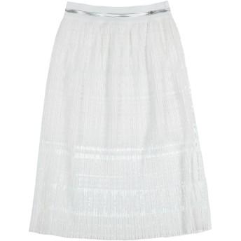 《セール開催中》BYBLOS ガールズ 9-16 歳 スカート ホワイト 10 ポリエステル 100%