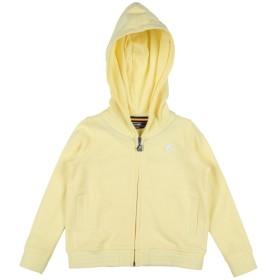 《セール開催中》K-WAY ガールズ 3-8 歳 スウェットシャツ ライトイエロー 4 コットン 100%