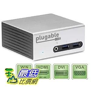 [美國直購] Plugable UD-5900 充電集線模組 USB 3.0 Aluminum Mini Universal (HDMI/DVI/VGA/Ethernet/Audio/USB/VESA