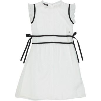 《セール開催中》TRUSSARDI JUNIOR ガールズ 9-16 歳 ワンピース&ドレス ホワイト 10 ポリエステル 100%