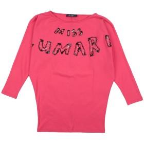 《セール開催中》MISS BLUMARINE ガールズ 9-16 歳 T シャツ フューシャ 10 コットン 94% / ポリウレタン 6%