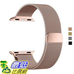 [美國直購] Apple Watch B01JIVCJXC Band 42mm DBEAZZT Milanese Bracelet Strap 316Stainless (Milanese- Rose