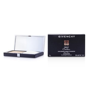 Givenchy 紀梵希 光感美肌持久粉餅 Teint Couture Long Wear Compact Foundation & Highlighter SPF10-PA++ - #4 Elega