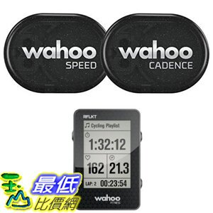 [106美國直購] 感應組 Wahoo RPM Sensor Phone Android Bike Computers(Speed and Cadence sensor with Bike Compu