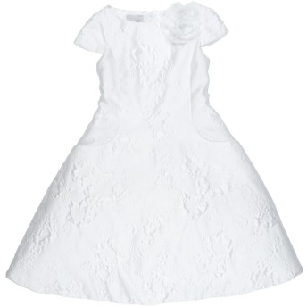 《セール開催中》MISS LEOD ガールズ 9-16 歳 ワンピース&ドレス ホワイト 9 ポリエステル 82% / ナイロン 18%