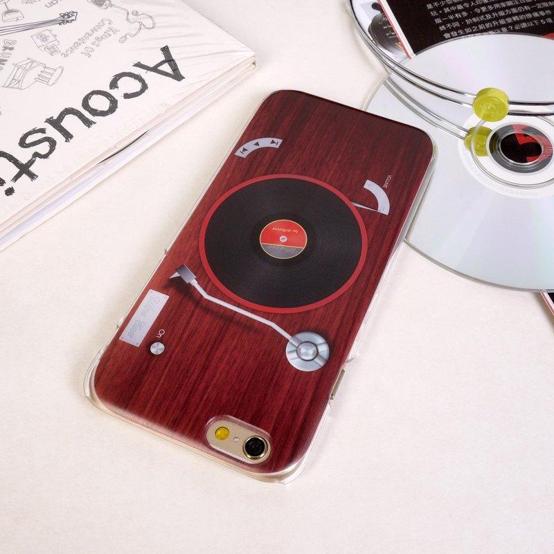 香港原創設計 音樂系列-復古老唱片機 iPhone X,  iPhone 8,  iPhone 8 Plus,  iPhone 7,  iPhone 7 Plus iPhone 6/6s,  iPho
