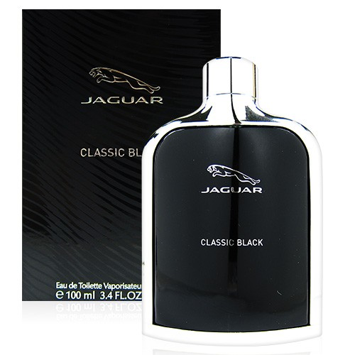 JAGUAR CLASSIC BALCK 黑爵 男性淡香水 100ml