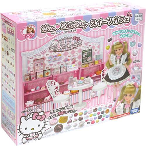 《TAKARA TOMY》莉卡Kitty粉紅甜點屋 東喬精品百貨