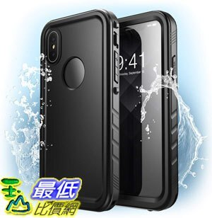 [7美國直購] 手機殼 iPhone XS Waterproof Case, iPhone X Waterproof Case, Clayco [Omni] for iPhone XS / X 5.8