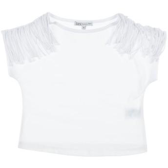 《セール開催中》PATRIZIA PEPE ガールズ 9-16 歳 T シャツ ホワイト 10 コットン 100%