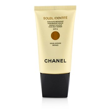 Chanel 香奈兒 美黑面霜Soleil Identite Perfect Colour Face Self Tanner SPF 8 - Intense (古銅色Bronze) 50ml/1.7o