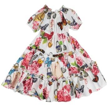 《セール開催中》DOLCE & GABBANA ガールズ 3-8 歳 ワンピース&ドレス ホワイト 3 コットン 100%