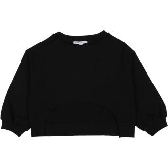 《セール開催中》PATRIZIA PEPE ガールズ 9-16 歳 スウェットシャツ ブラック 10 コットン 95% / ポリウレタン 5%