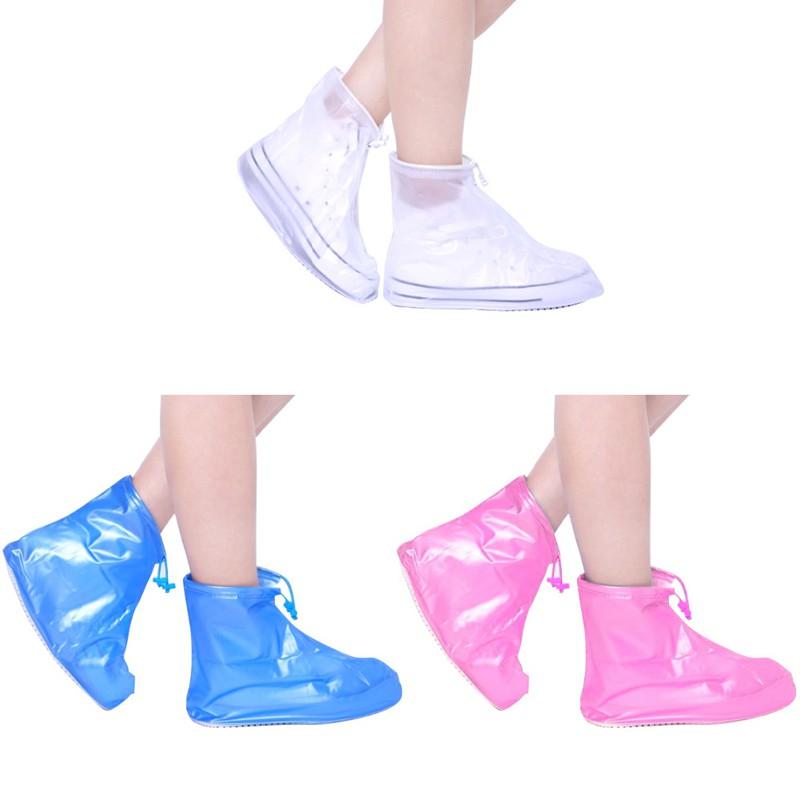兒童雨鞋套 防水 下雨天防滑加厚 耐磨鞋套 兒童雨鞋套【IU貝嬰屋】