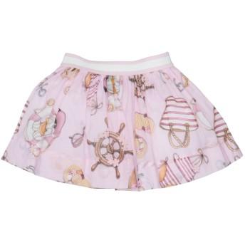 《セール開催中》MONNALISA BEBE' ガールズ 0-24 ヶ月 スカート ピンク 12 コットン 100%
