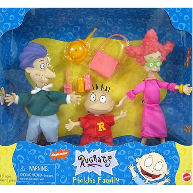 RUGRATS PICKLES FAMILY WINTER TIME PLAYSET NICKELODEON
