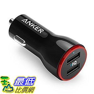 [106美國直購] 車載充電器 Anker 24W Dual USB Car Charger PowerDrive 2 for iPhone iPad Pro Air 2  mini Galaxy N