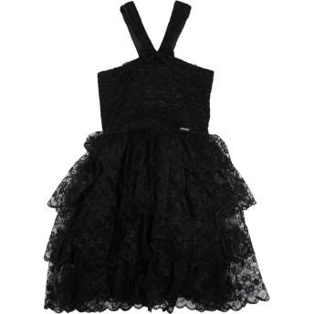 《セール開催中》DSQUARED2 ガールズ 9-16 歳 ワンピース&ドレス ブラック 10 レーヨン 65% / ナイロン 35%