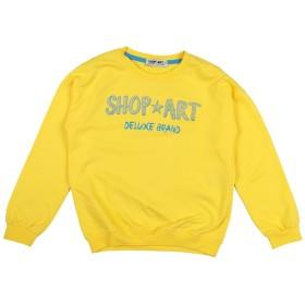 《セール開催中》SHOP ★ ART ガールズ 9-16 歳 スウェットシャツ イエロー 9 コットン 100%