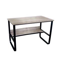 【樂活玩家】鑫克錸鋼木多用收納工作桌電腦桌辦公桌120cm