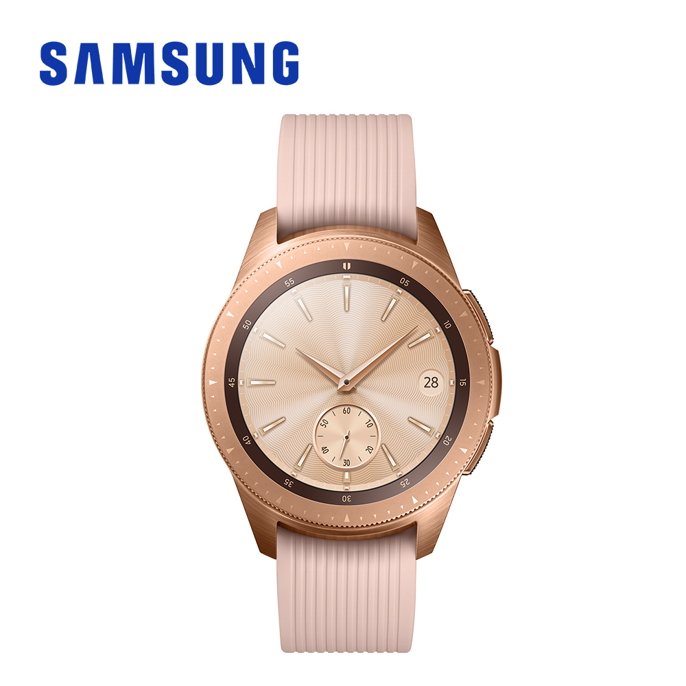 SAMSUNG Galaxy Watch SM-R815 LTE 42mm 智慧手錶 玫瑰金