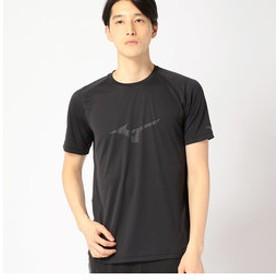 【COMME CA ISM:トップス】〔ミズノ コラボ商品〕ロゴTシャツ