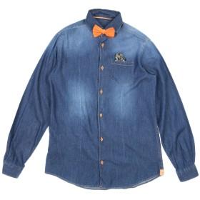 《セール開催中》AUSTIN MEKS ボーイズ 9-16 歳 デニムシャツ ブルー 16 コットン 100%