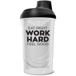 丹麥 BODYLAB Shaker Bottle 運動隨身搖搖杯 600ml-黑色